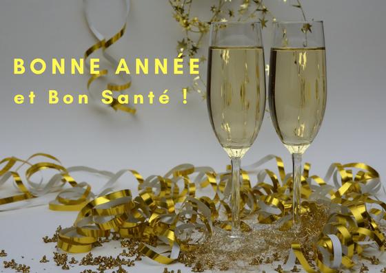Bonne année et bon santé!