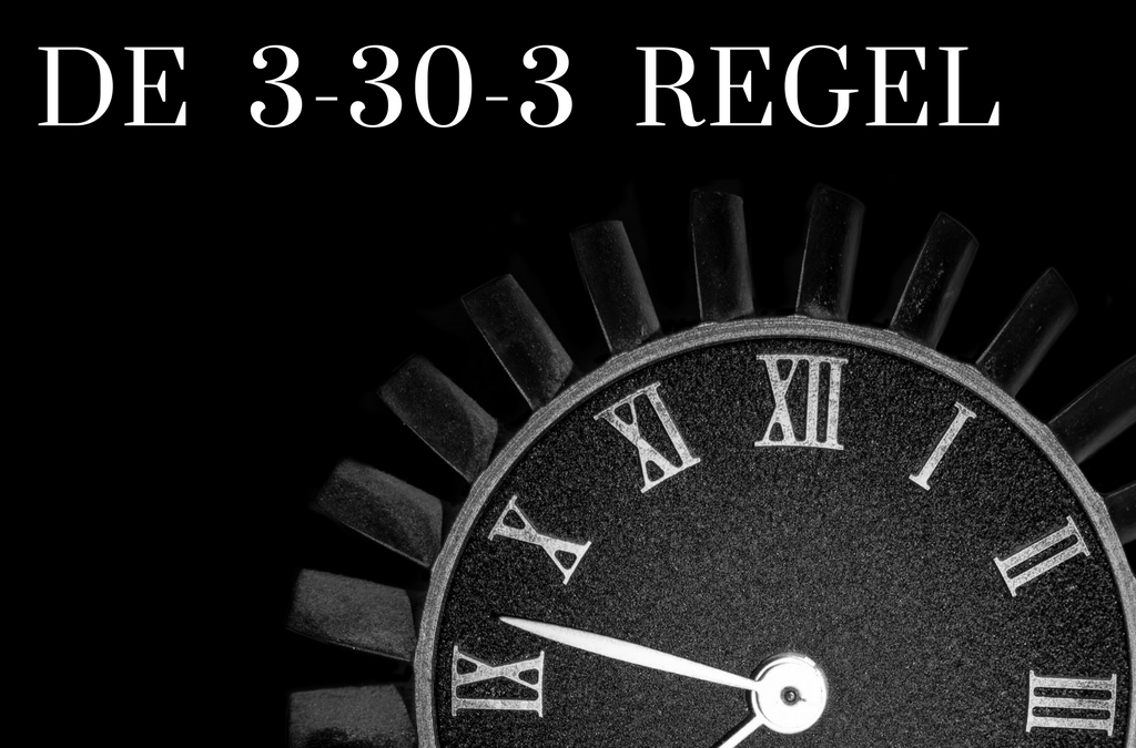 De 3-30-3 regel in offertes