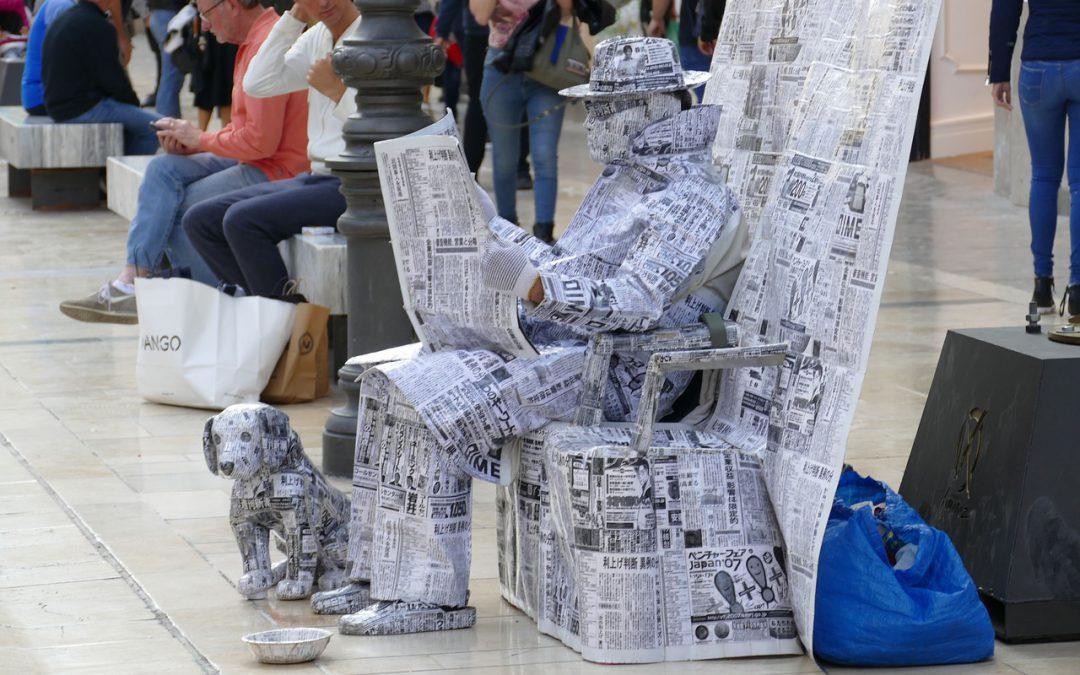 De krant als voorbeeld