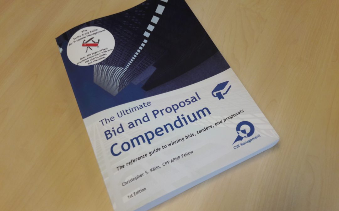 "Boek recensie: ""The ultimate bid and proposal compendium"""